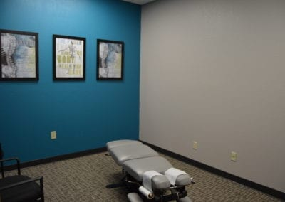 Sioux Falls chiropractic office.